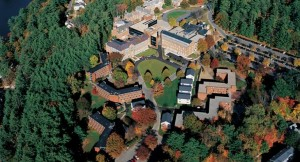 Aerial view of the Dartmouth Campus